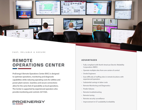 Remote Operations Center Tear Sheet