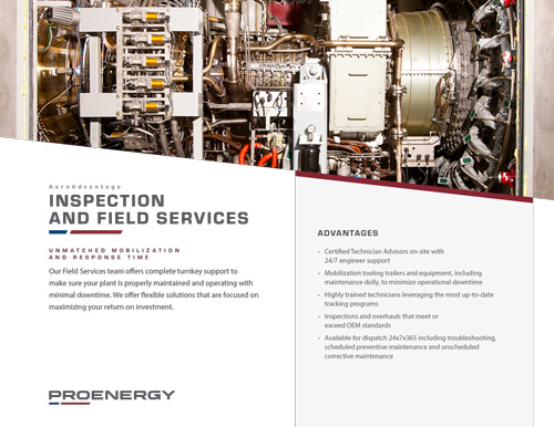 Inspection and Field Services Tear Sheet